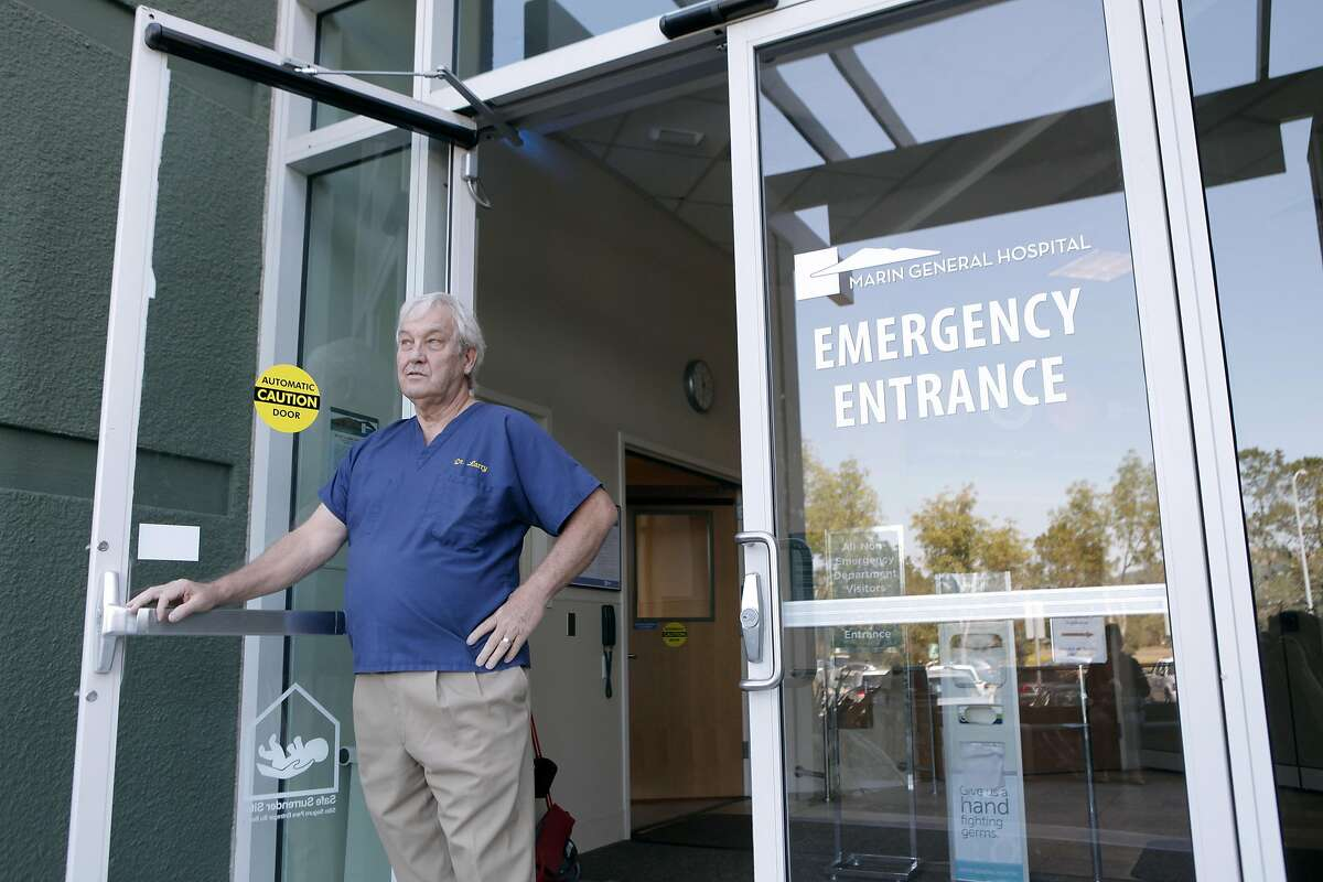 Dr. Larry Bedard poses outside of the Marin General Hospital in Greenbrae, California on Wednesday, September 7, 2016.