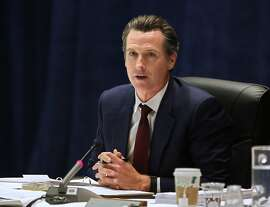 FILE- In this May 11, 2016 file photo California Lt. Gov. Gavin Newsom speaks during a meeting of the University of California Board of Regents in Sacramento, Calif. An online magazine opinion piece attributed to California Lt. Gov. Gavin News contains at least one paragraph that largely originally appeared on the website of the National Center for Lesbian Rights. (AP Photo/Rich Pedroncelli, File)