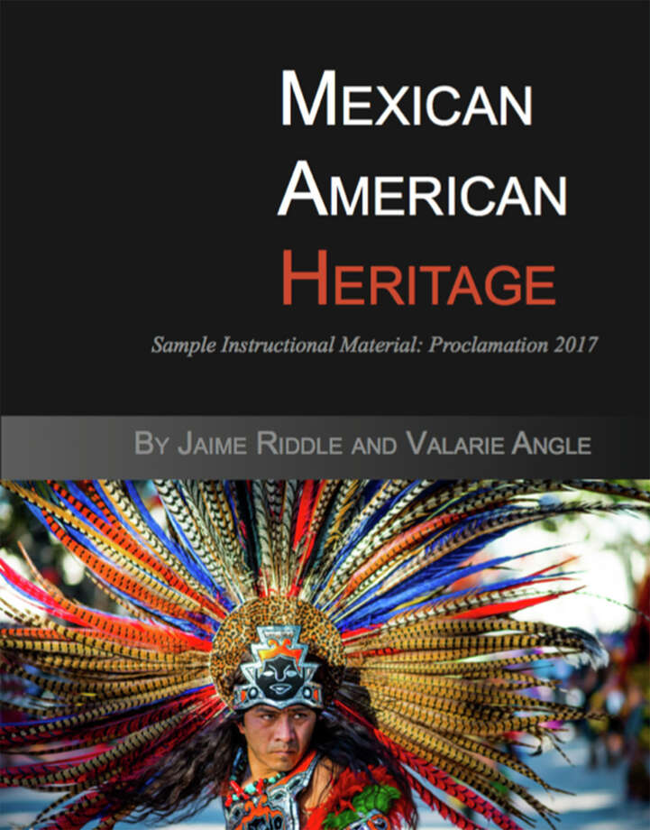 "The State Board of Education should not adopt ""Mexican American Heritage"" as a textbook. The text is disparages Mexican American contributions to our nation and is riddled with factual errors, glaring omissions, and offensive racial stereotypes. Photo: Foto De Cortesía /Momentum Instruction / Foto de cortesia"
