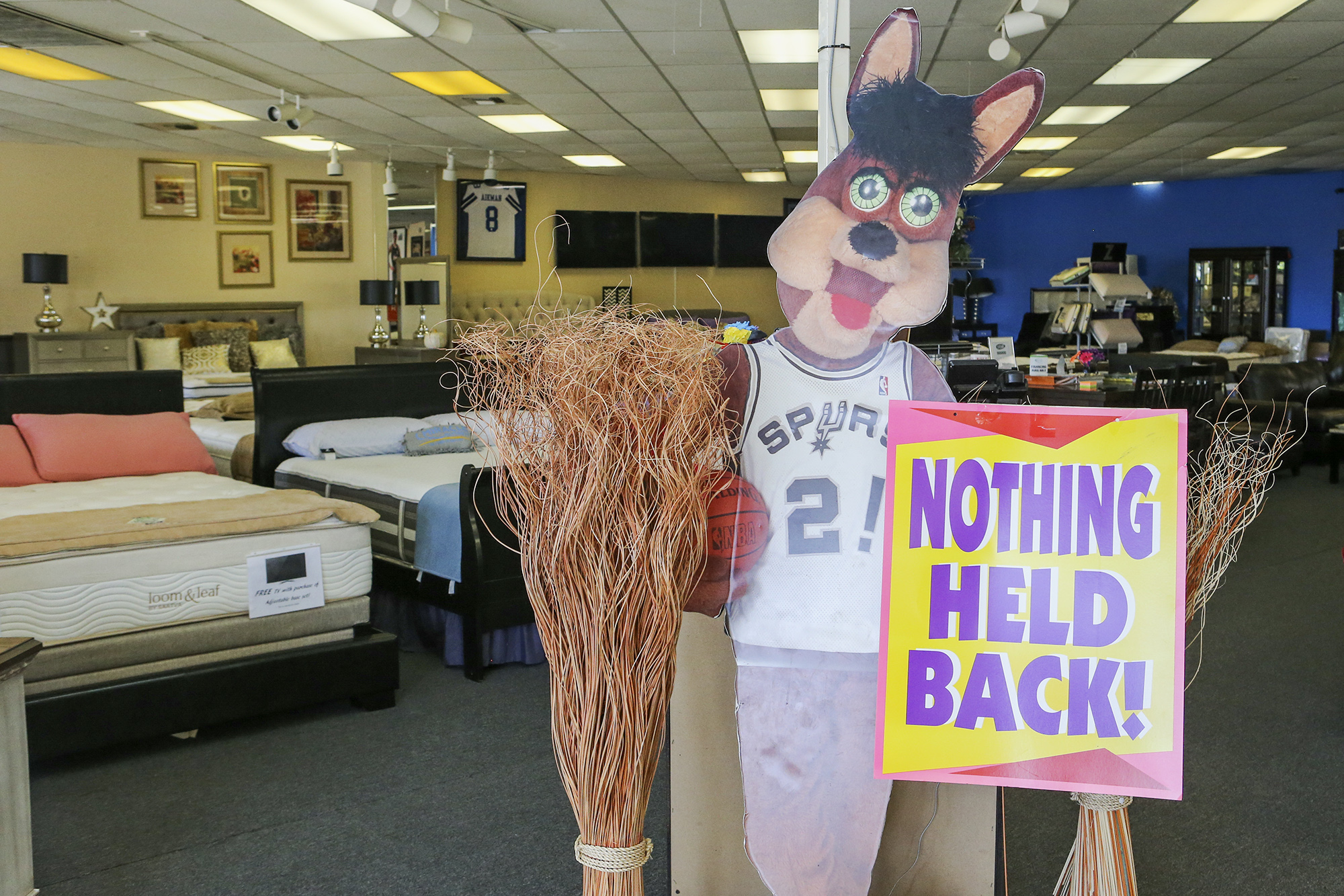 san antonio mattress store closes indefinitely after parodying 9