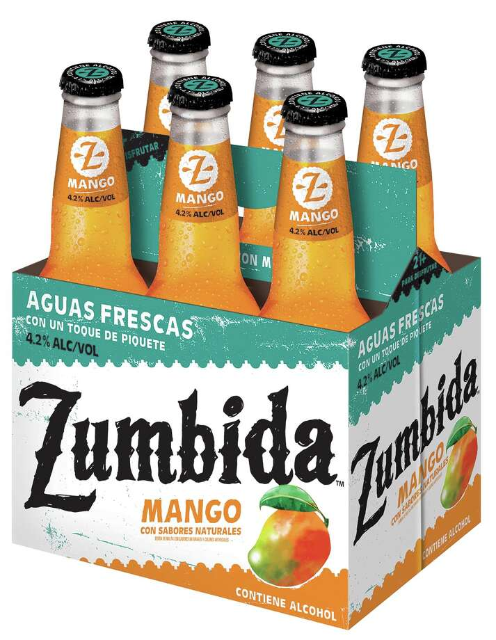 """Miller Coors' latest creation, """"Zumbida,"""" an aguas frescas-inspired alcoholic drink avaialle in San Antonio. Photo: Miller Coors"""