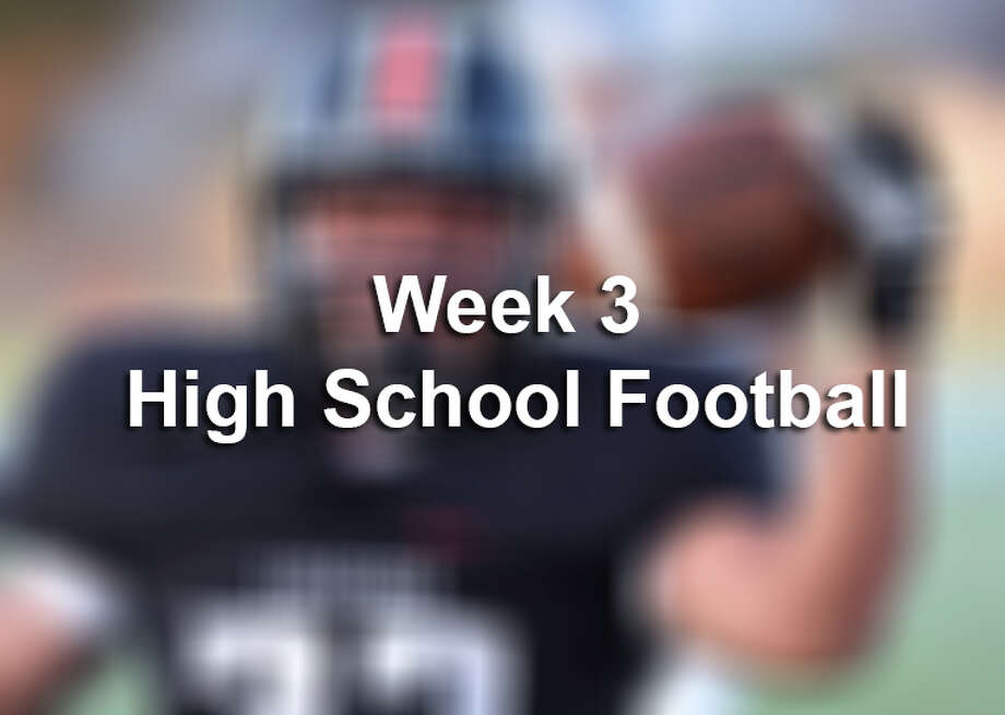 Week 3 High School Football Photo: Billy Calzada/San Antonio Express-News