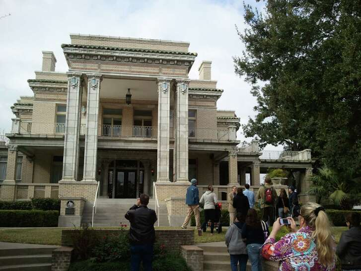 The 1912 Link-Lee mansion is a stop on the Architecture Center Houston Montrose tours, Feb. 7 and March 19.