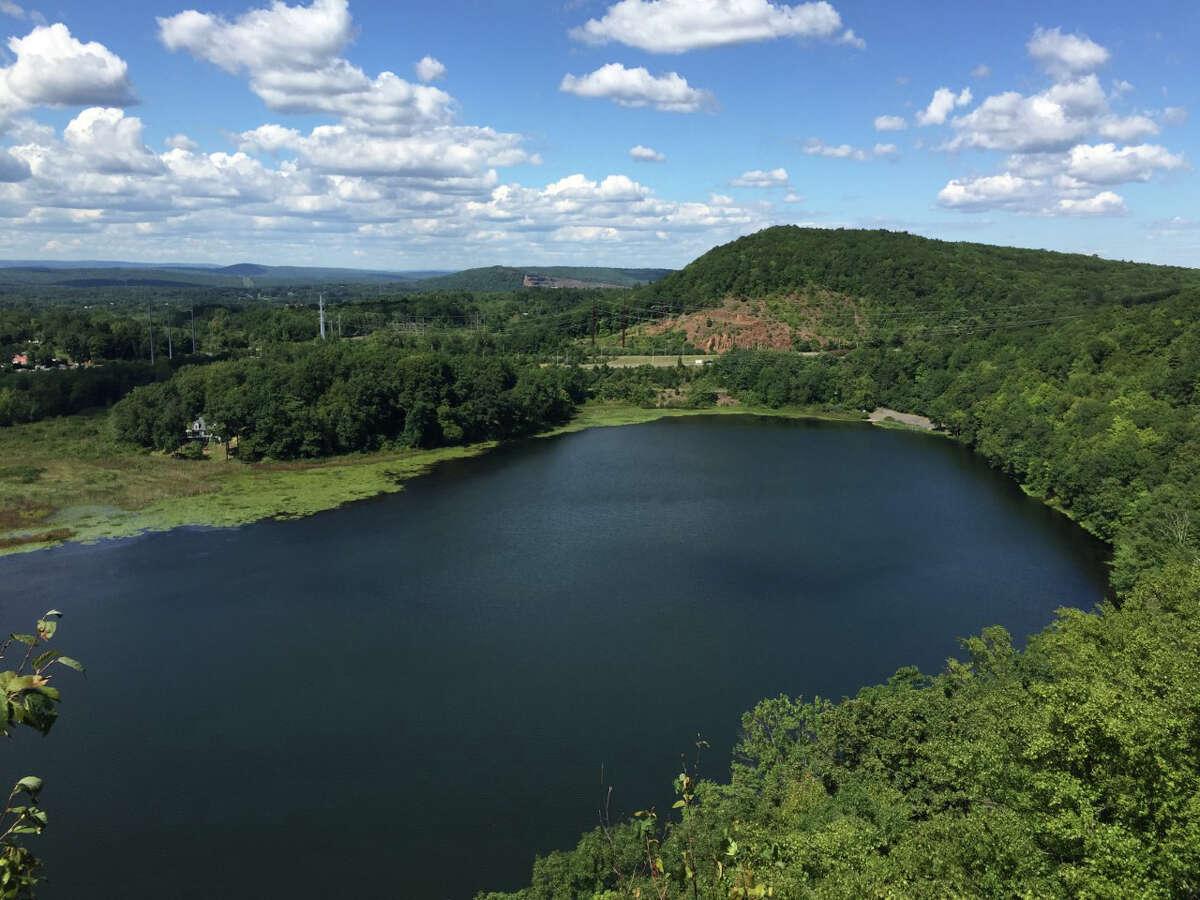 Black Pond from the Mattabesett Trail, Middlefield
