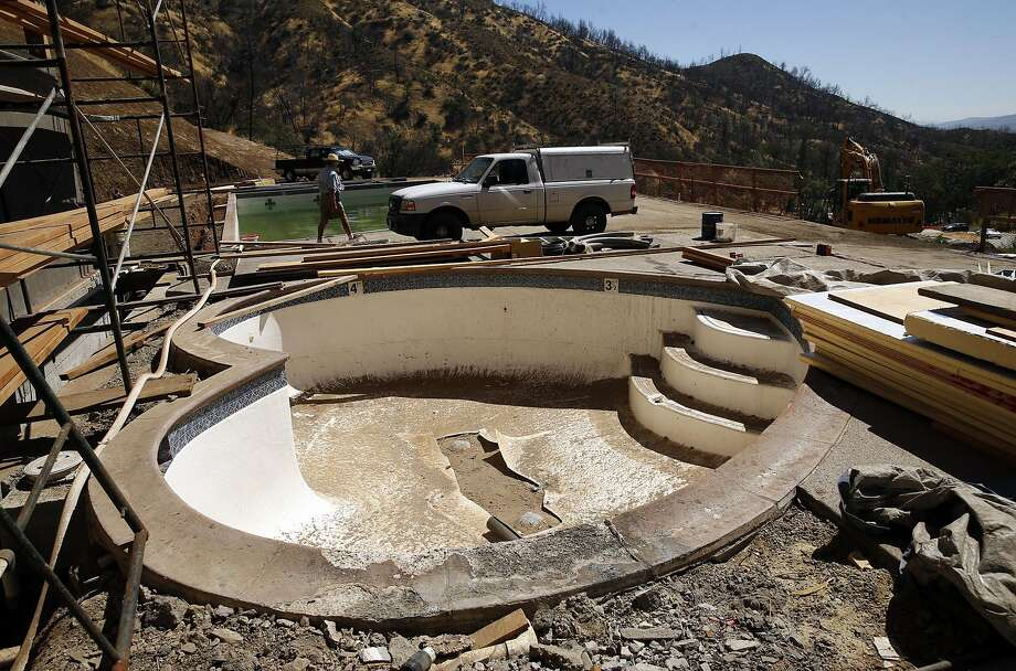 Construction at Harbin Hot Springs in Middletown, Calif., on Thursday, August 25, 2016. Photo: Scott Strazzante, The Chronicle