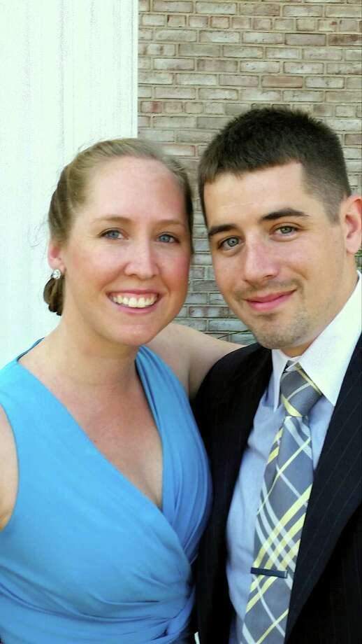 Katie Lynn Peterson and  Roth Chapman Stewart are to wed. Photo: Contributed / Contributed Photo / Greenwich Time Contributed