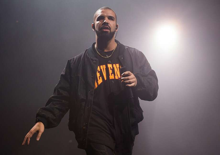 The Canadian rapper Drake will play Oracle Arena, Oakland. Photo: Charles Sykes, Associated Press