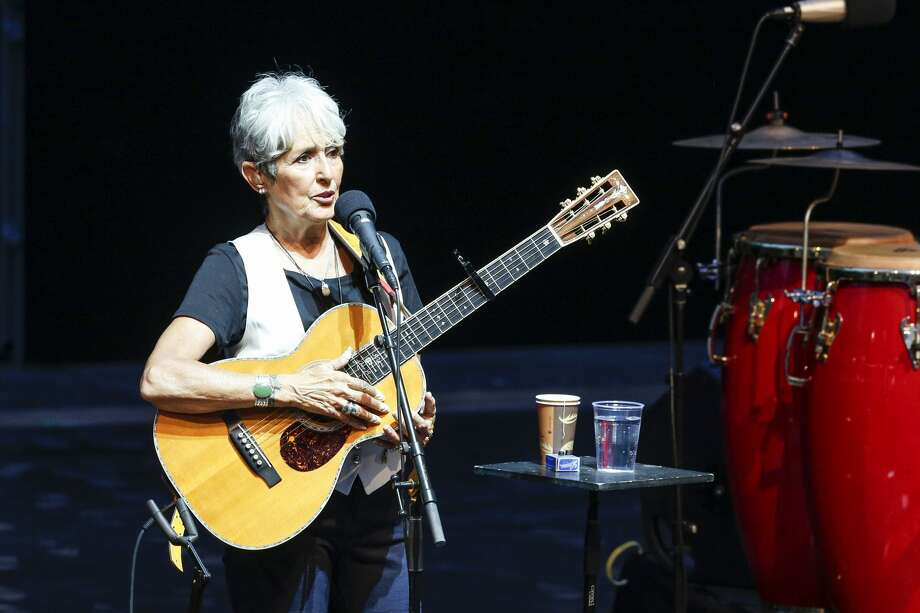 November 6-7: Joan Baez at the Fox Theater in Oakland Photo: Isa Foltin/Getty Images
