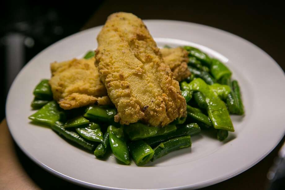 Deep-fried Ling Cod at Black Cat in San Francisco. Photo: John Storey, Special To The Chronicle