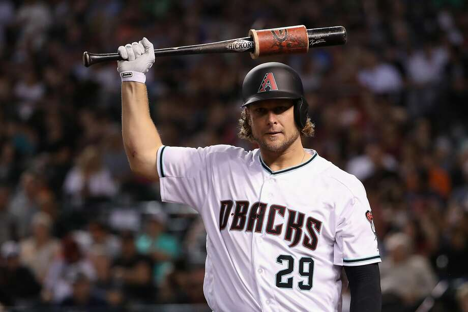 Diamondbacks rookie Kyle Jensen twice was first-team All-West Coast Conference with St. Marys. Photo: Christian Petersen, Getty Images