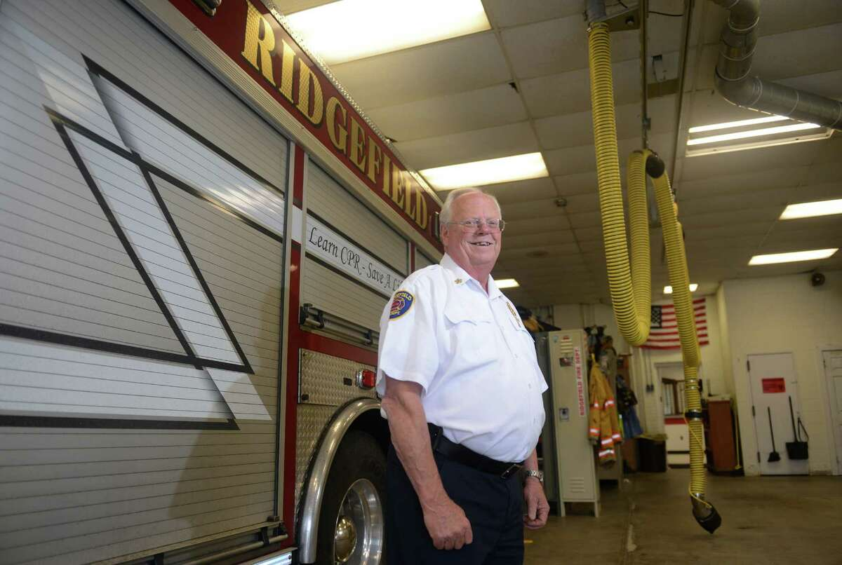 Kevin Tappe, former fire chief of the Ridgefield Fire Department