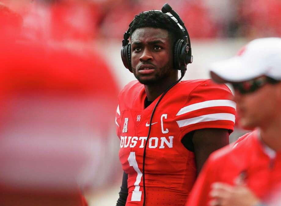 Houston quarterback Greg Ward Jr., along with running back Duke Catalon, returned to practice on Sunday. Photo: Brett Coomer, Houston Chronicle / © 2016 Houston Chronicle