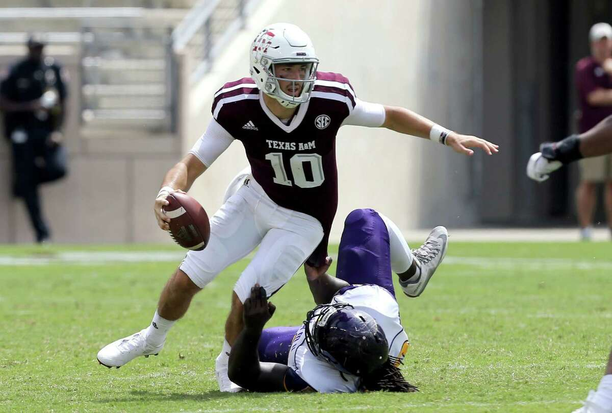 Sept. 10: Texas A&M 67, Prairie View A&M 0 The Aggies rolled to victory in the first meeting between the state's two oldest public universities. Record: 2-0