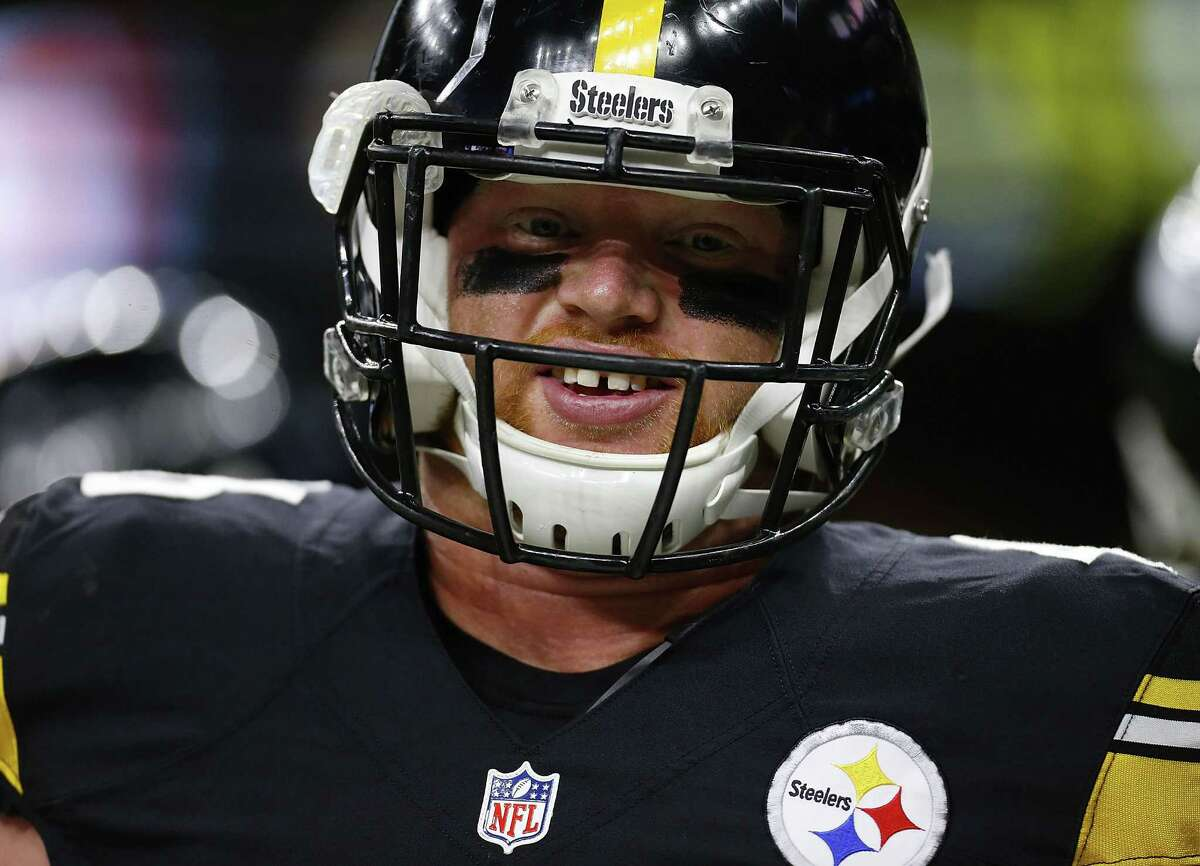 NEW ORLEANS, LA - AUGUST 26: Tyler Matakevich #46 of the Pittsburgh Steelers warms up before a game at the Mercedes-Benz Superdome on August 26, 2016 in New Orleans, Louisiana. (Photo by Jonathan Bachman/Getty Images)