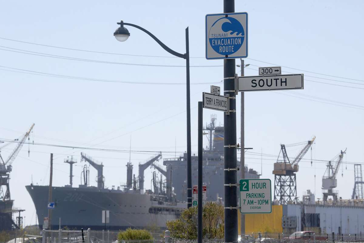 South Street sign seen at Terry A. Francois Street on Friday, September 2, 2016, in San Francisco, Calif.