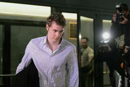 n this Sept. 2, 2016, Brock Turner leaves the Santa Clara County Main Jail in San Jose, Calif. When the former Stanford University swimmer registered as a sex offender in Xenia, Ohio, Sept. 6, 2016, he joined a nationwide legion of criminals that has grown dramatically in recent years and now numbers more than 800,000. As registration has expanded along with the definition of sex crimes, so have legal challenges to a one-size-fits-all punishment that can treat a one-time peeping tom the same as a serial rapist. (Dan Honda/Bay Area News Group via AP, file)