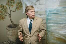 David Duke, the former Ku Klux Klan grand wizard and open Nazi sympathizer, in Mandeville, La., Sept. 2, 2016. Duke, who is running for a U.S. Senate seat in Louisiana, relishes his fame and the conundrum facing his critics, who insist on ignoring him but have been forced not to. (William Widmer/The New York Times)