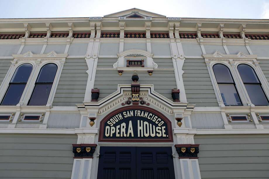 The South San Francisco Opera House is pictured in the Bayview on Saturday, September 10,  2016. Photo: Gabriella Angotti-Jones, The Chronicle