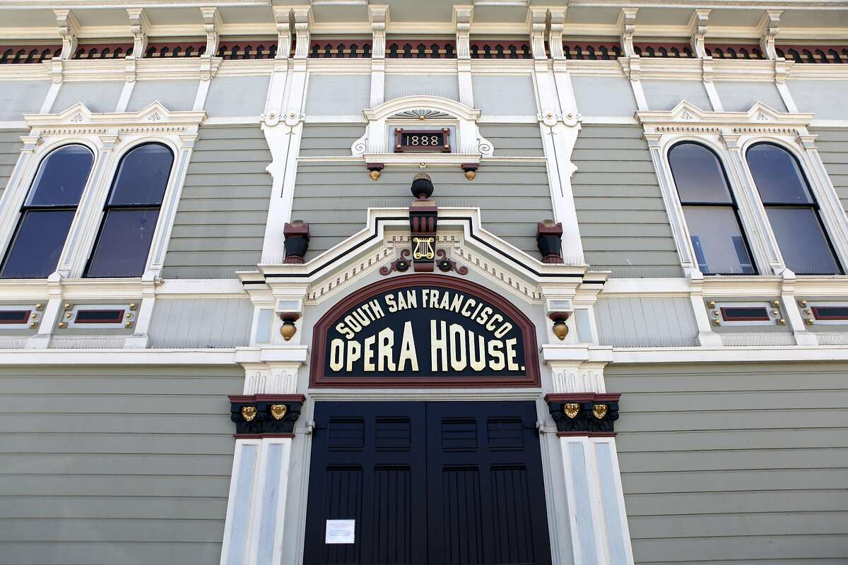 The South San Francisco Opera House is pictured in the Bayview on Saturday, September 10, 2016.