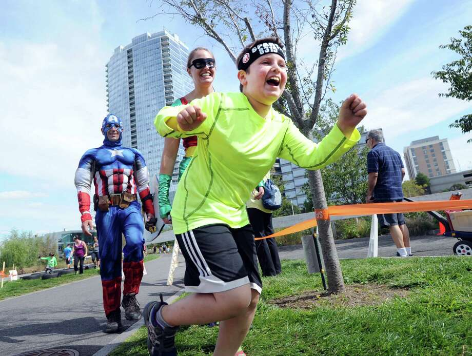 Spartan's Stamford Kids Race returns to the city next month at Mill River Park. Photo: Bob Luckey Jr. / Hearst Connecticut Media / Greenwich Time