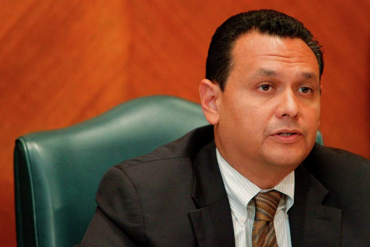 Ed Gonzalez, District H Councilman, during council at City Hall on Wednesday, Aug. 8, 2012, in Houston. ( Mayra Beltran / Houston Chronicle )