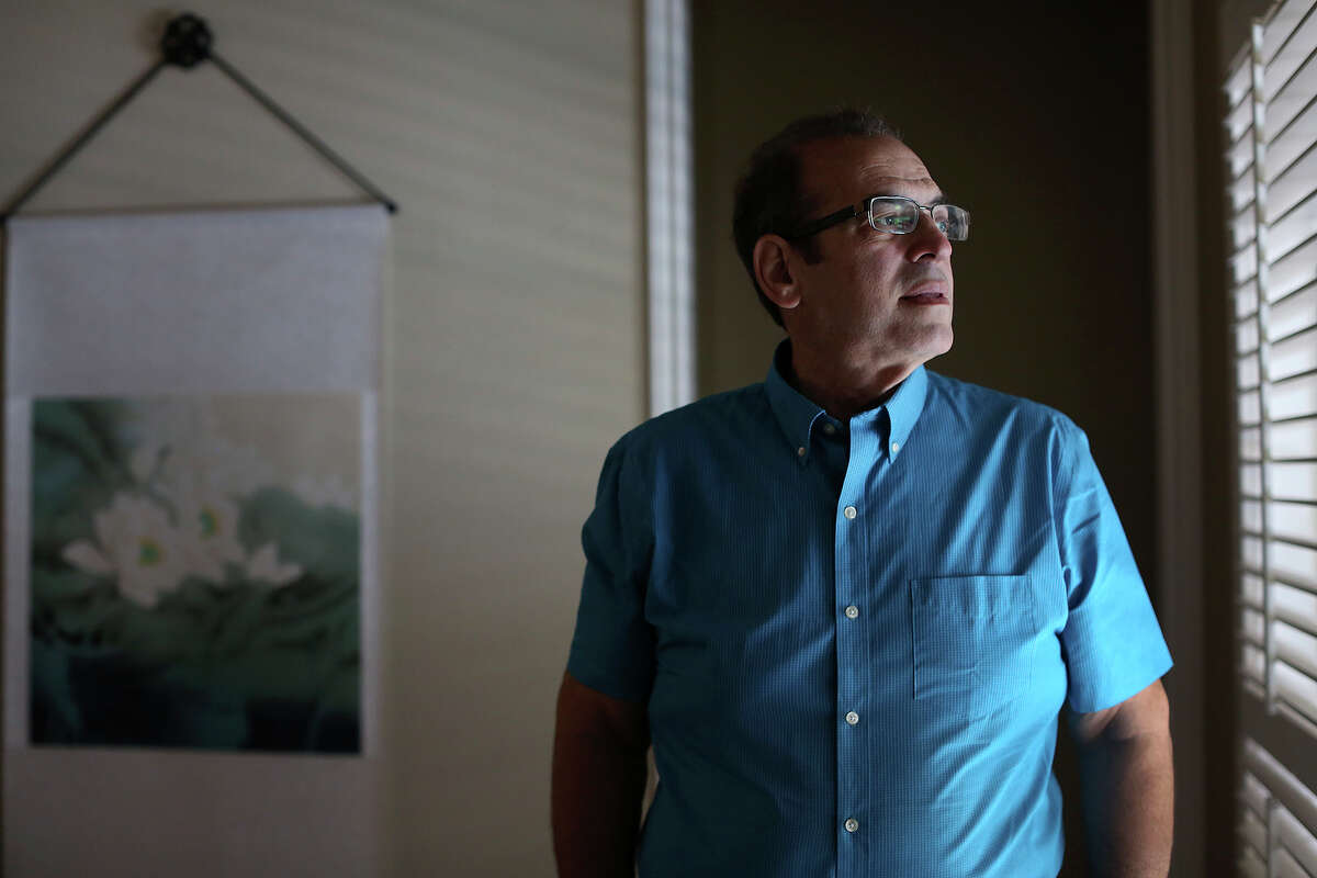 9-11 survivor Jonathan Gordon at his home in San Antonio on Friday, Sept. 9, 2016. Gordon was working on the 13th floor of the North Tower of the World Trade Center when terrorists attacked.