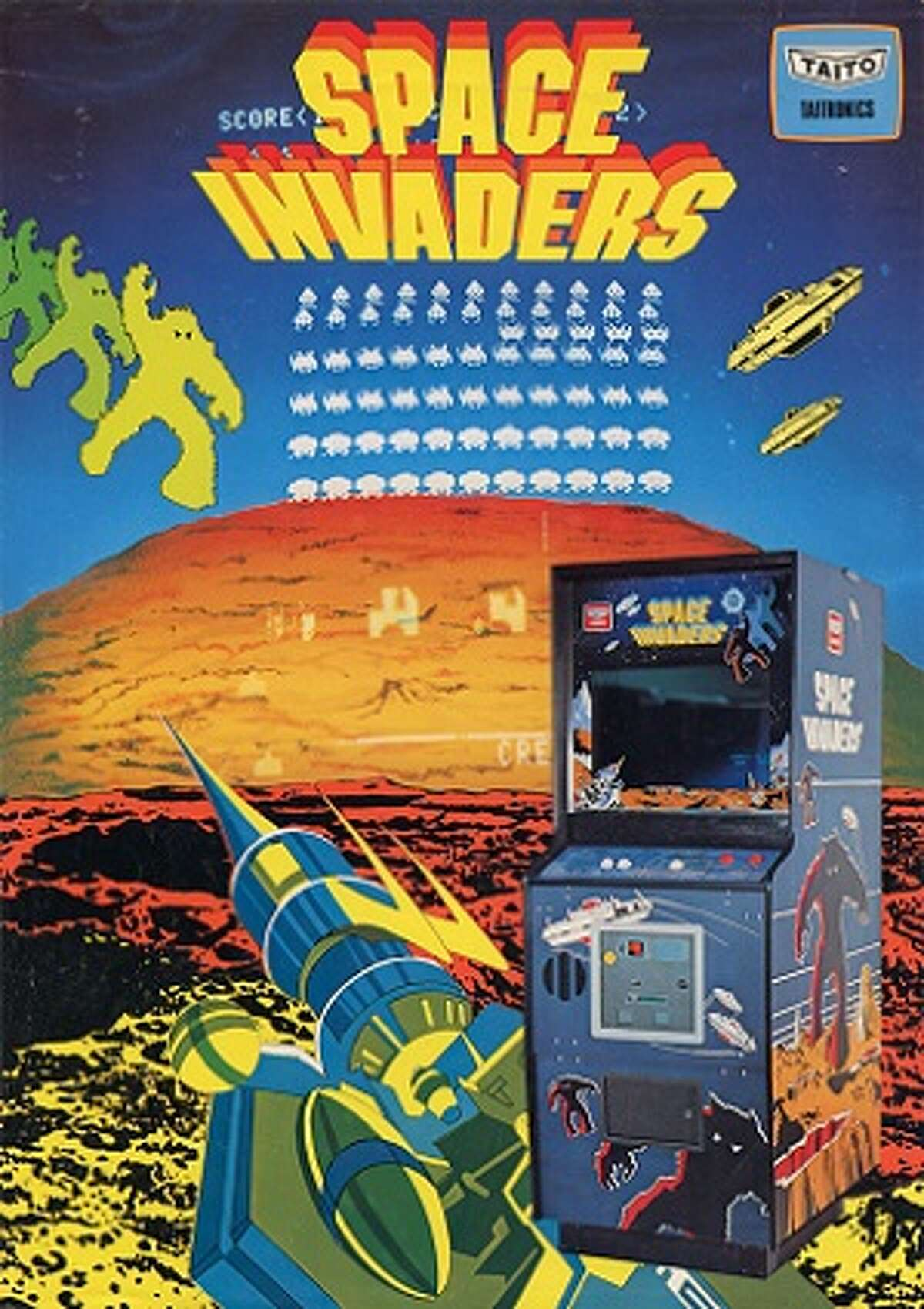 THE MOST POPULAR VIDEO GAME THE YEAR YOU WERE BORN 1977 - Space Invaders Atari 2600