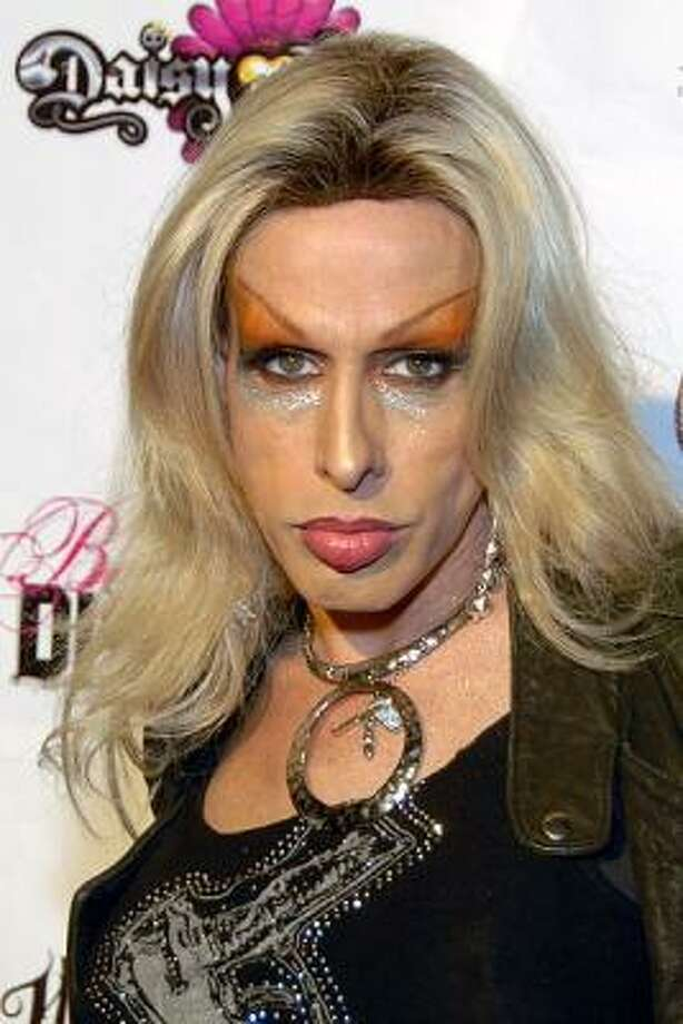 Alexis Arquette, a real-life trans woman and sister of David and Rosanna Arquette, has starred as herself in numerous documentaries. Her transition from male to female was documented in the film, Alexis Arquette: She's My Brother. Photo: © Glenn Francis, Www.PacificProDigital.com