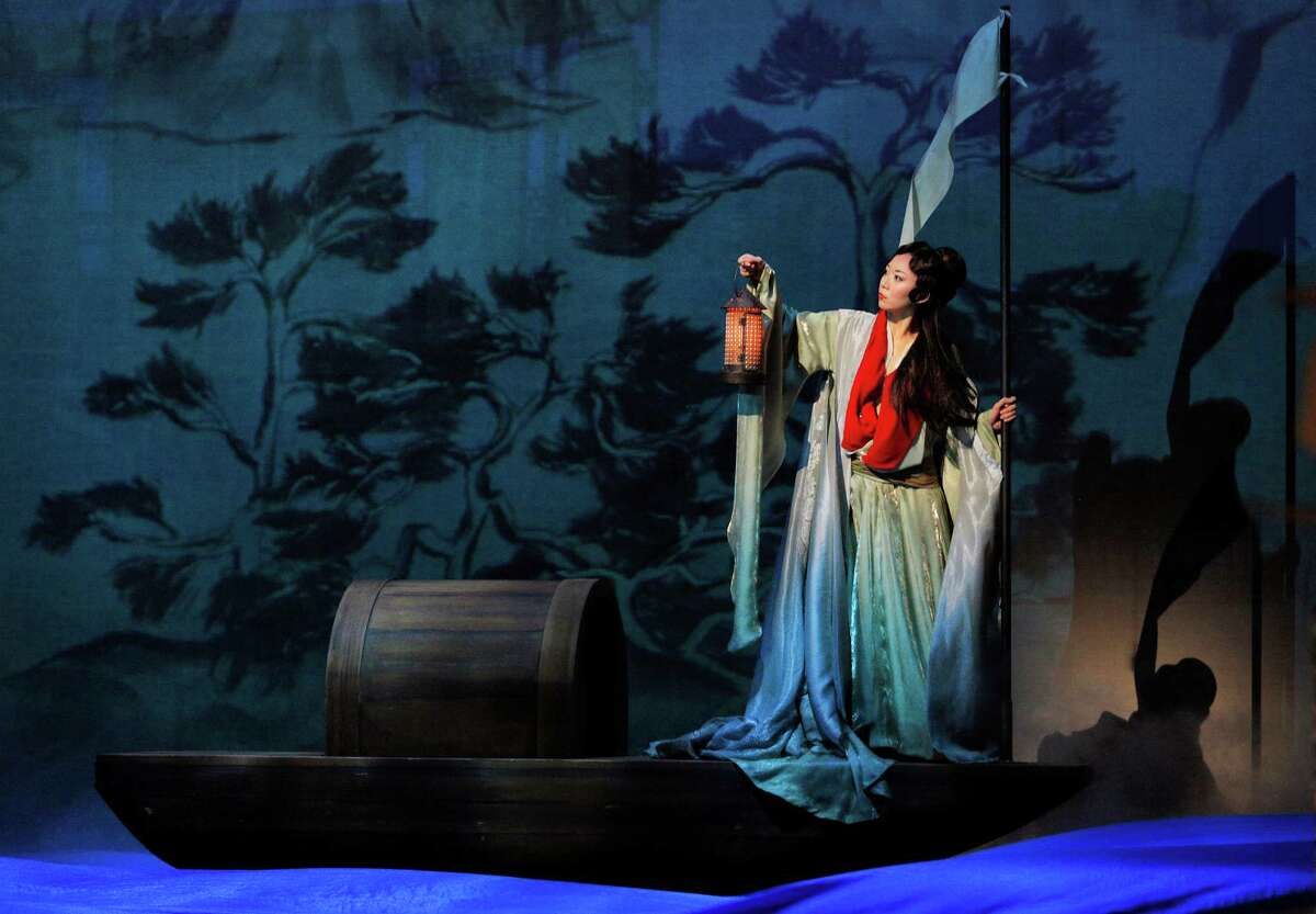 """Pureum Jo plays Dai Yu in S.F. Opera's world premiere of """"Dream of the Red Chamber."""""""
