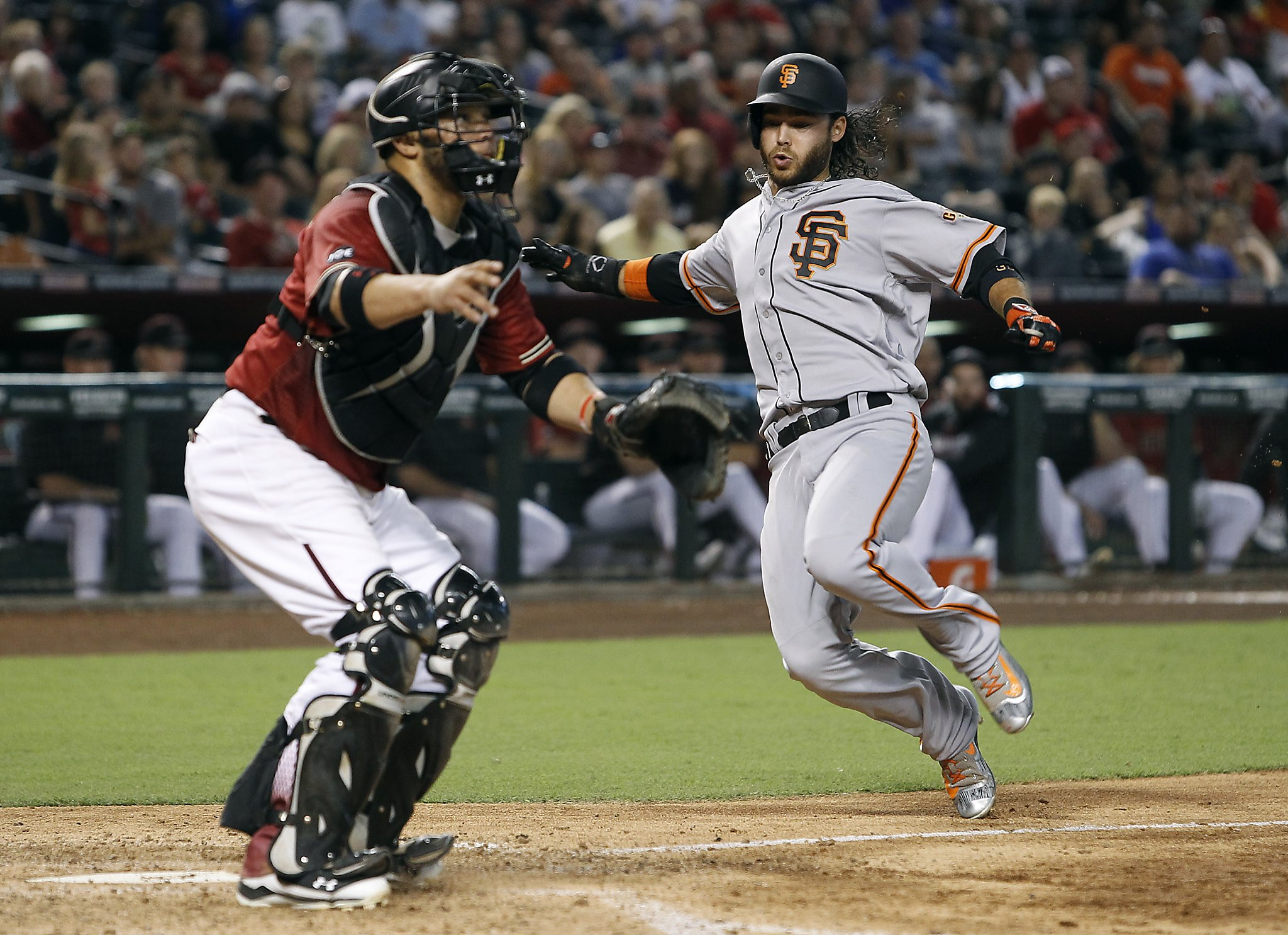 Giants sweep Diamondbacks, gain on Dodgers again - SFGate