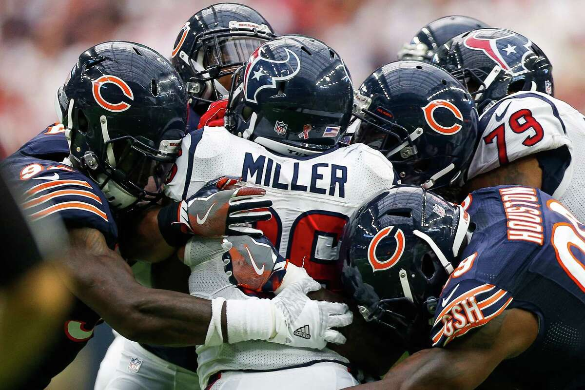 3. Running back Lamar Miller The Texans' new $26 million man proved to be a capable replacement for former Pro Bowl runner Arian Foster with 98 rushing yards on 28 carries, a significantly heavier workload than he shouldered with the Miami Dolphins.