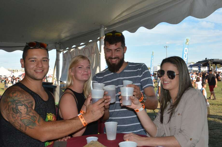 "The 39th annual Norwalk Oyster Festival was held on September 10 and 11, 2016 on Norwalk Harbor. Newtown-born Sawyer Fredericks, the youngest winner of NBC's ""The Voice,"" headlined the festival. Were you SEEN? Photo: Vic Eng / Hearst Connecticut Media Group"
