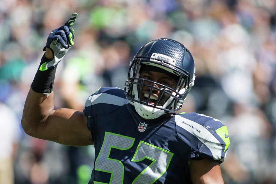 The Seahawks place starting strongside linebacker Mike Morgan on injured reserve Monday. Photo: GRANT HINDSLEY, SEATTLEPI.COM / SEATTLEPI.COM