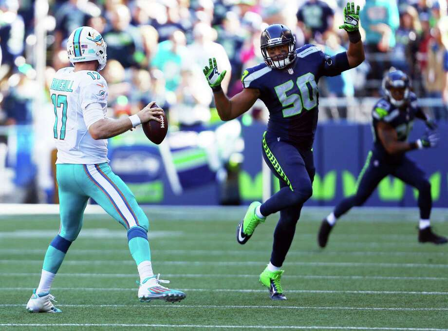 Linebacker K.J. Wright (knee) will miss his 11th game of the season Sunday. Carroll said the hope is that Wright will be ready to make a return next week.  Photo: GENNA MARTIN, SEATTLEPI.COM / SEATTLEPI.COM