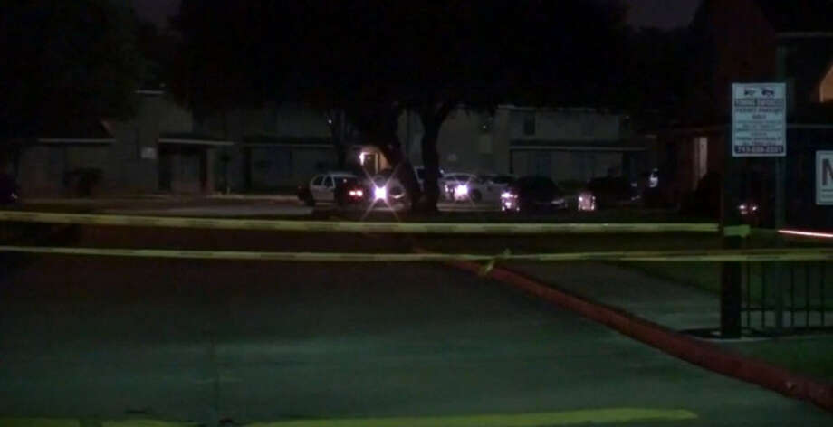 """Police are searching for a man who is considered a """"person of interest"""" in the case after he ran over a woman, later identified as San Juanita Herrera, four times about 11 p.m. Sunday, Sept. 11, 2016, in a apartment complex parking lot at 6767 Long in southeast Houston. (Metro Video)"""