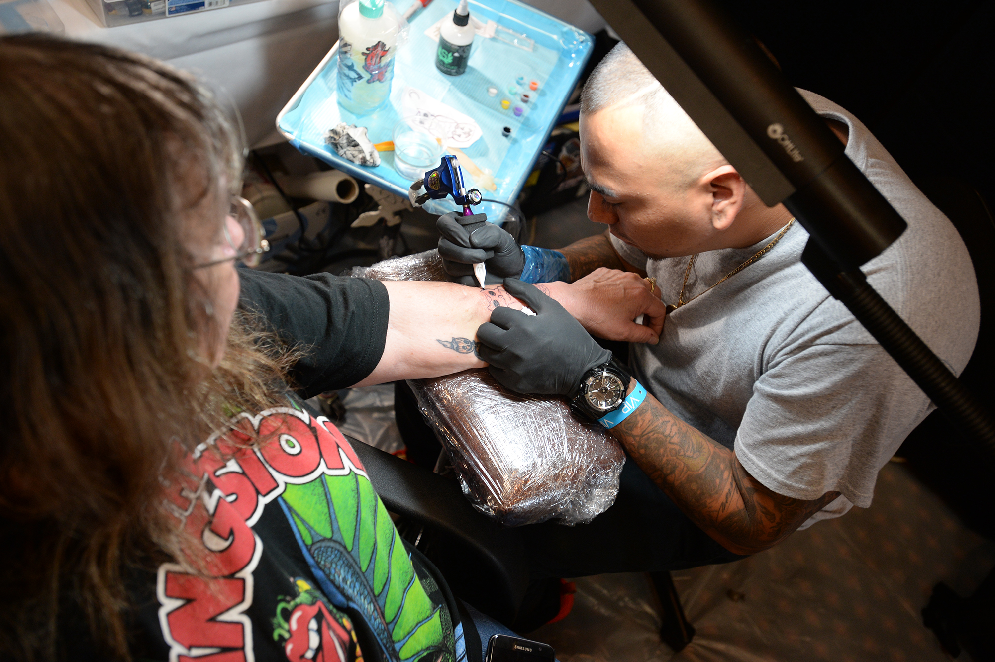 Inkmasters expo attracts beaumont tattoo enthusiasts for Houston tattoo expo