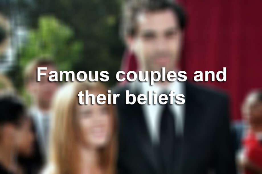 Here are famous couples that have conflicting religions. Photo: File