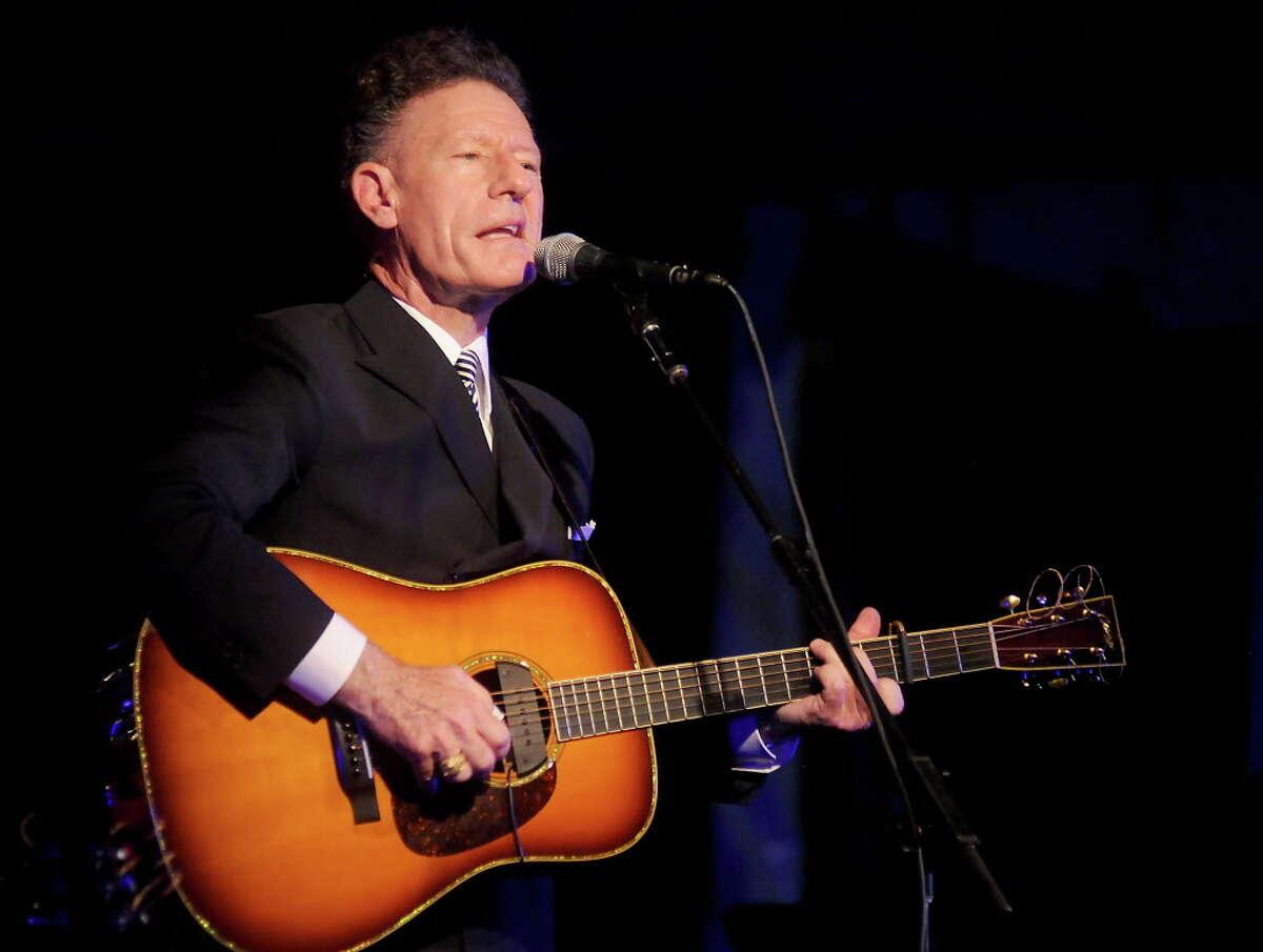 Lyle Lovett performs at the Bryan Museum Gala in Galveston Saturday Sept. 10,2016. (Dave Rossman Photo)