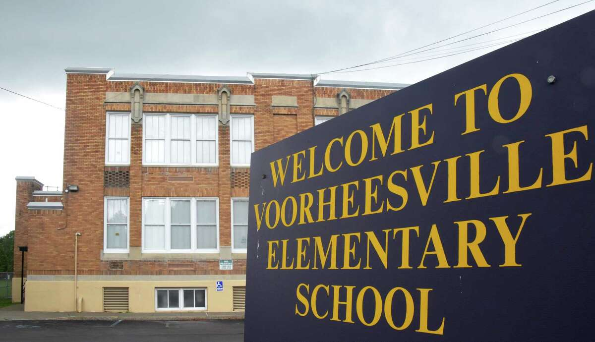 Voorheesville Elementary School Wednesday Aug. 9, 2016 in Voorheesville,NY. (John Carl D'Annibale / Times Union)