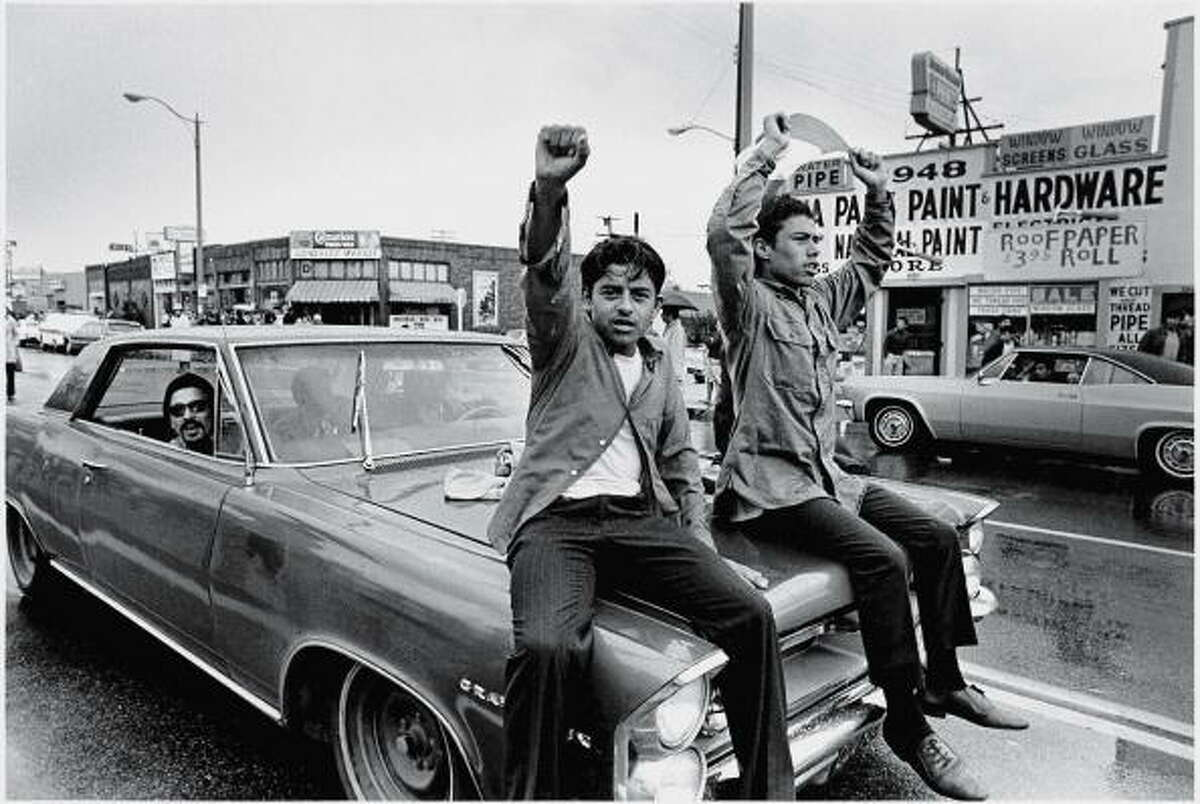 """Quote from textbook: """"The heart of the Chicano movement revolved around creating a Mexican American community that resided within, but was untouched by, white American society."""" Error identified by committee: """"The issue of separating from 'white American community', while some minor groups might have expressed such a sentiment, did not encompass the vast majority of Chicano Movement organizations."""""""
