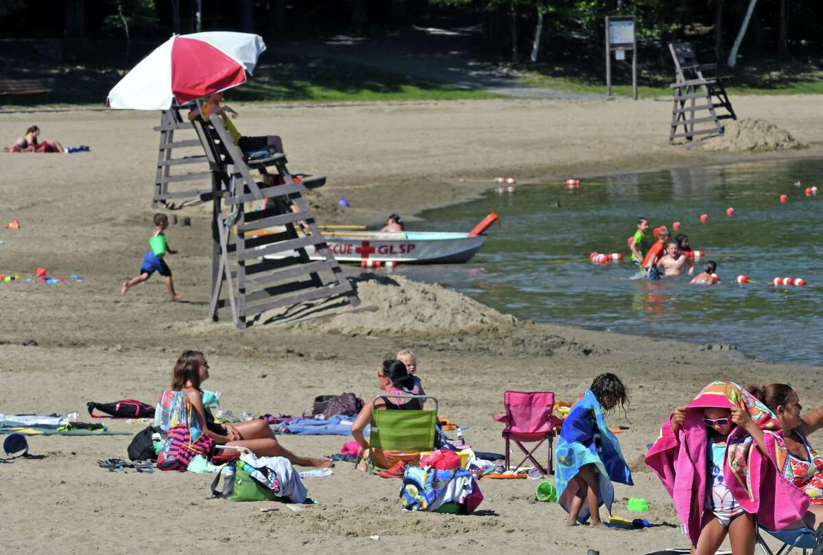 Grafton Lakes State Park will be open for swimming from 10 a.m. to 6 p.m. daily starting the Friday before Memorial Day, May 22. Visitors will be asked to stay 6 feet apart, with their beach towels and blankets set up even further apart with 10 feet of distance between them. Masks will need to be worn at all times inside restrooms and other park buildings, though according to the park's website, most will be closed at this time.