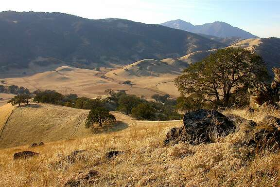 Hidden in plain sight: Round Valley Regional Preserve is nestled on the remote southeast flank of Mount Diablo.