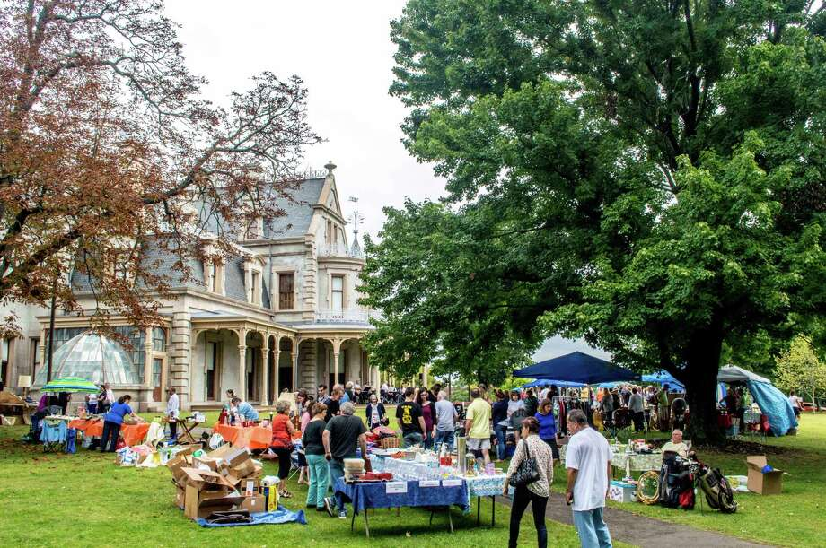 On Sunday, Sept. 18, the Lockwood-Mathews Mansion Museum in Norwalk will host its ninth annual Old-fashioned Flea Market and classic/antique car show. Photo: Sarah Grote Photography /Contributed Photo