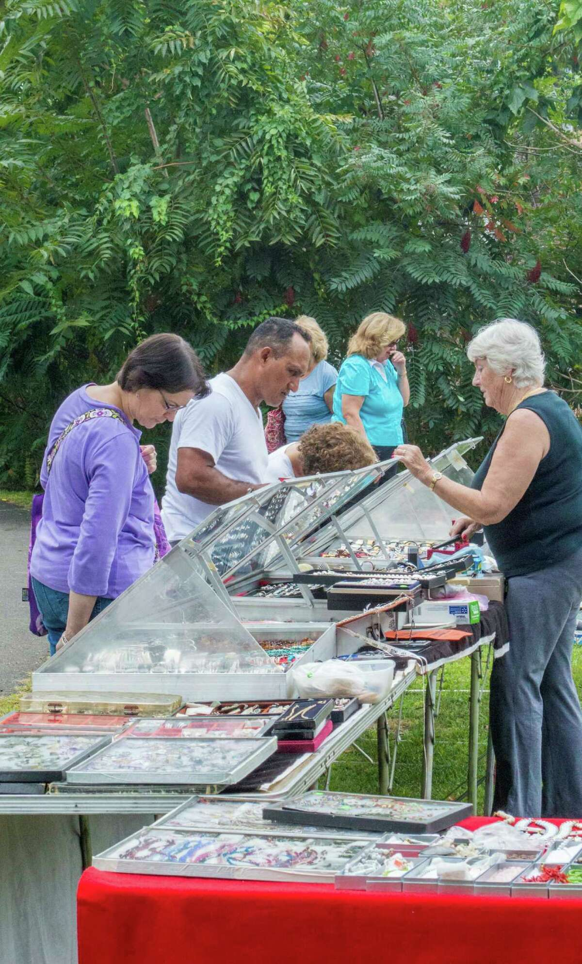 On Sunday, Sept. 18, the Lockwood-Mathews Mansion Museum in Norwalk will host its ninth annual Old-fashioned Flea Market and classic/antique car show.