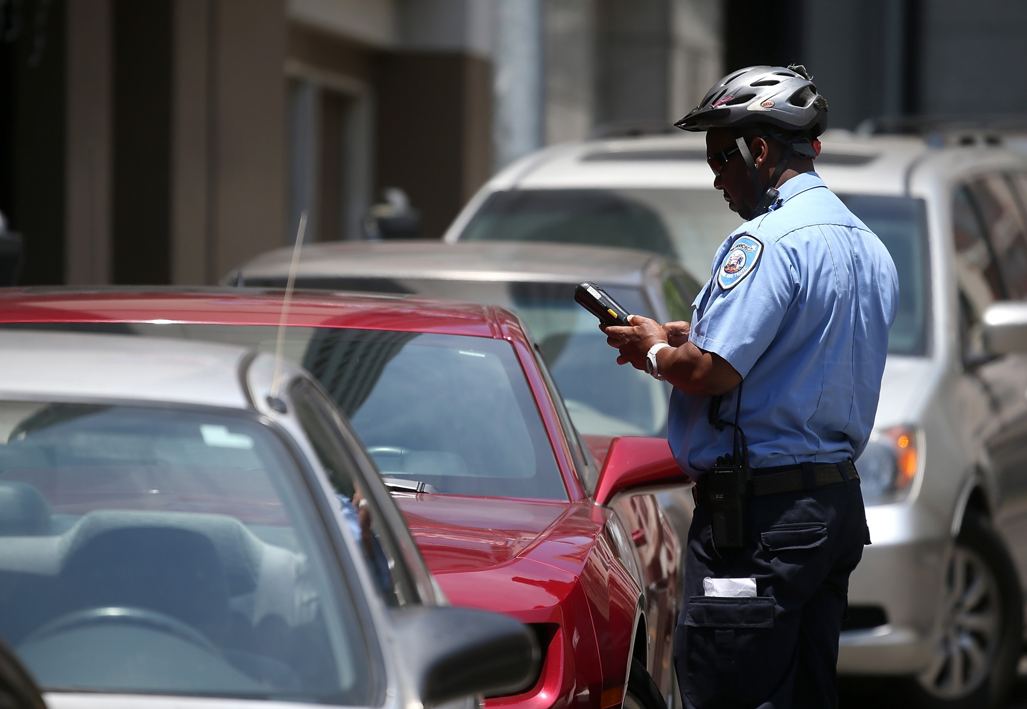 Meter Maid Monitor Aims To Help Sf Users Avoid Parking Tickets