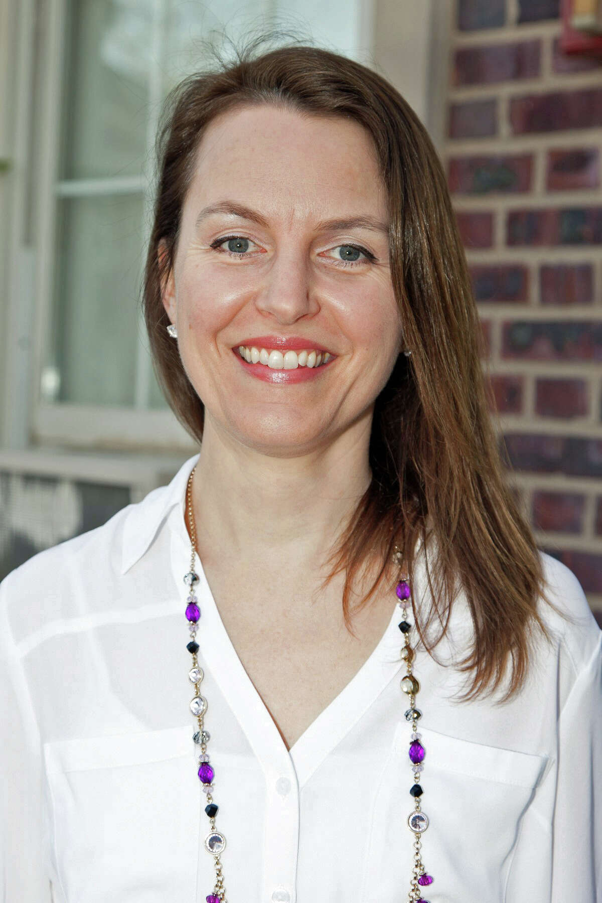 Greenwich High School science teacher Sarah Goldin is a semi-finalist for the 2017 CT Teacher of the Year award.