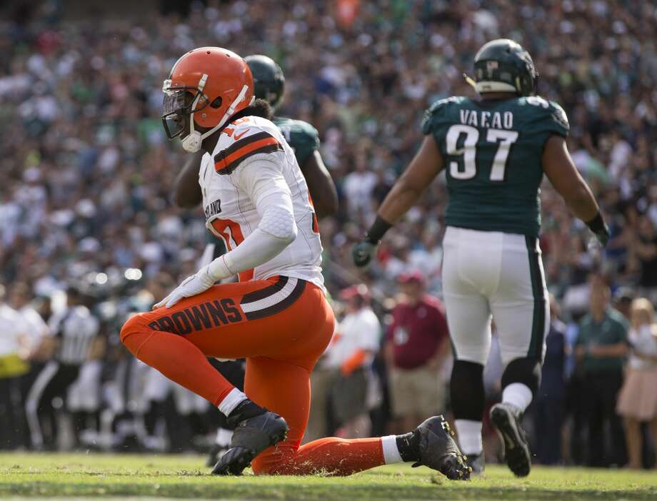 32. Cleveland Browns (0-1): The Browns were dominated by the Eagles and the quarterback they gave up a chance at selecting in last spring's draft. Meanwhile, Robert Griffin III is headed to injured reserve.Last week: 31. Photo: Mitchell Leff/Getty Images