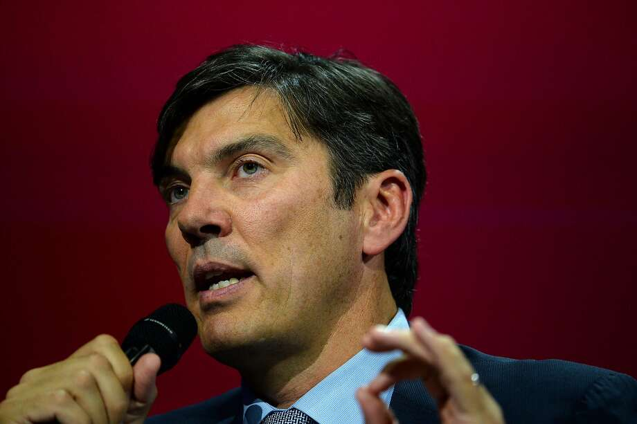 AOL chief executive Tim Armstrong, top, and Verizon executive Marni Walden, above. Photo: ERIC PIERMONT, AFP/Getty Images
