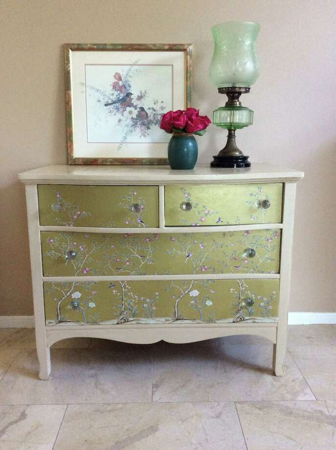 A Little Paint A Little Sparkle Give Old Furniture A