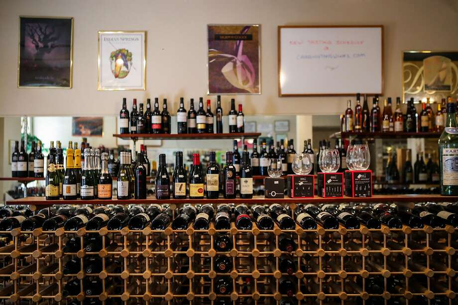 Patrons of Carrington's Fine Wines develop sophisticated tastes, the proprietor says. Photo: Gabrielle Lurie, Special To The Chronicle